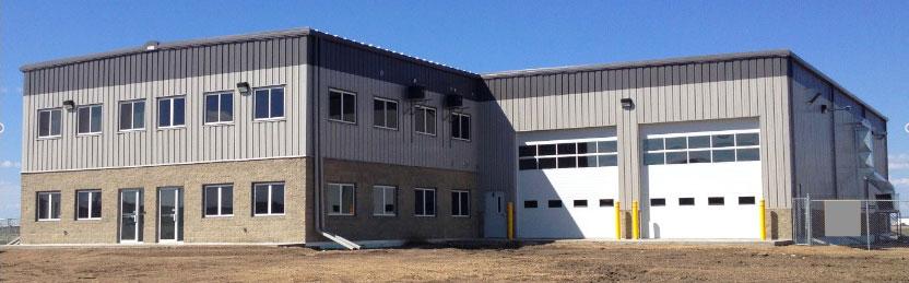 GP-Shop - metal frame building construction