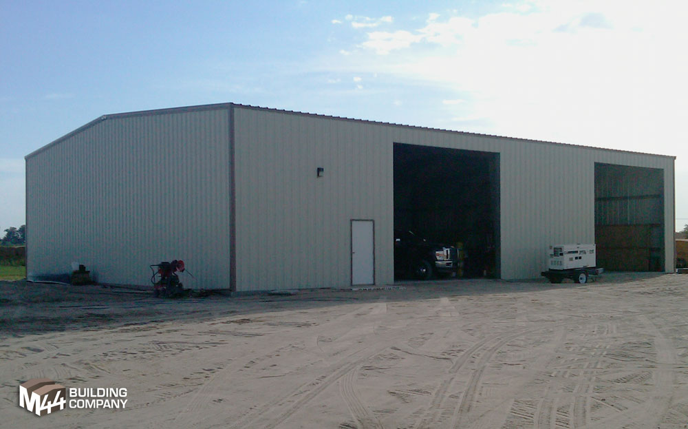pre-fab equipment shed