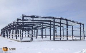metal building frame