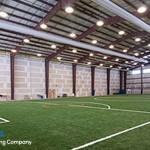 metal frame construction sports center
