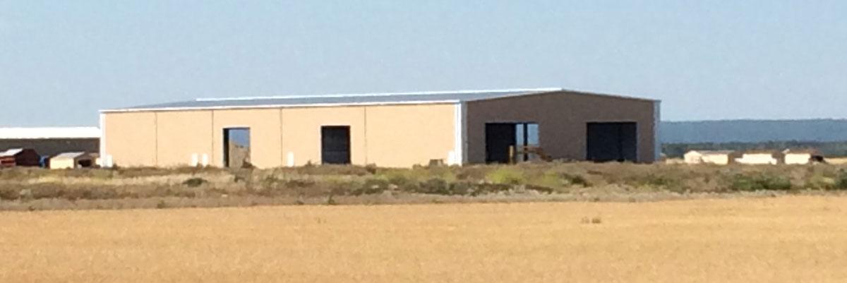 agriculture building - steel frame construction