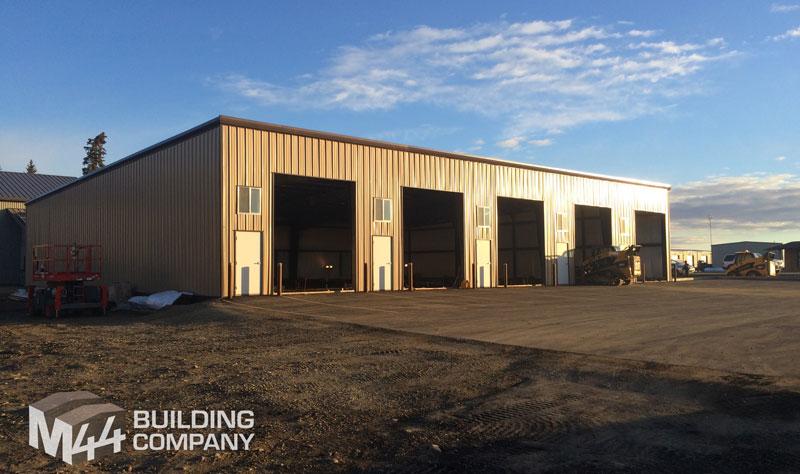 Prefab Workshop Building Steel Frame Construction