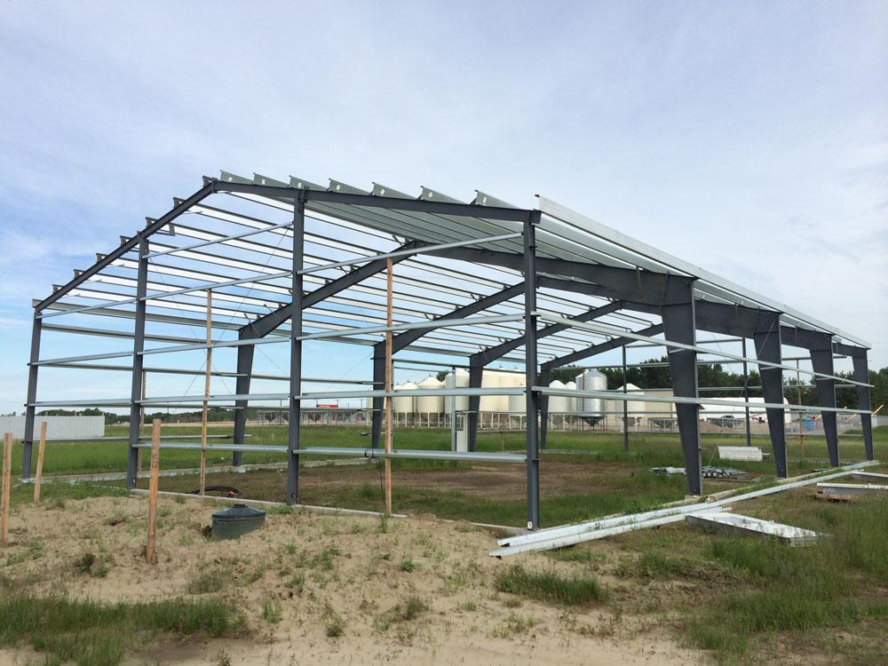 Agricultural Metal Frame Building Saskatoon